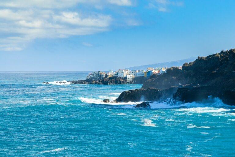 Tenerife kust puerto de la cruz